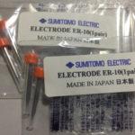 Điện cực máy hàn cáp quang Sumitomo NHẬT BẢN