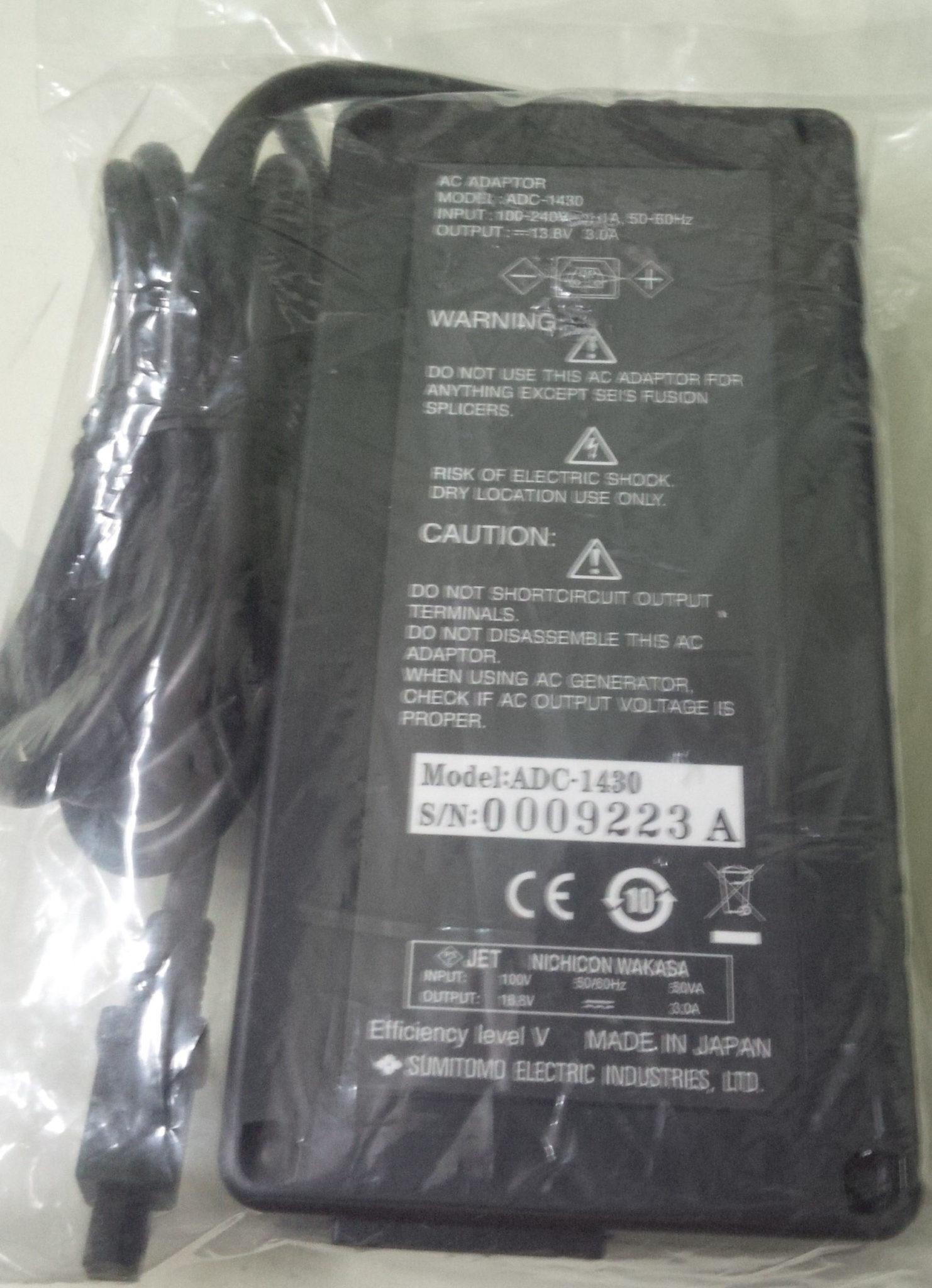 adapter 1430 sumitomo fusion splicer