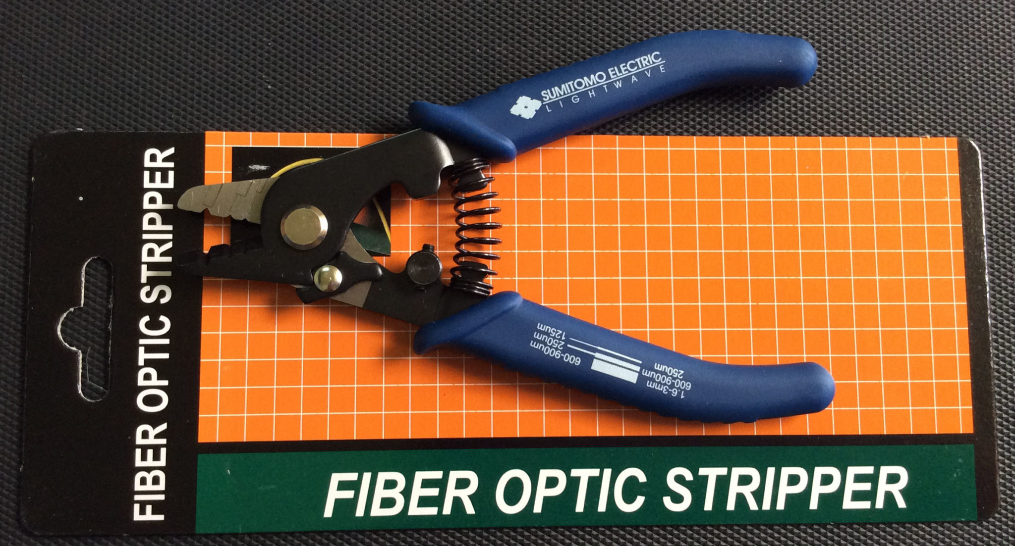 Fiber optic stripper micro ms1