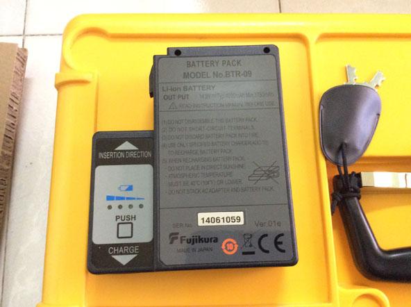 pin máy hàn cáp quang