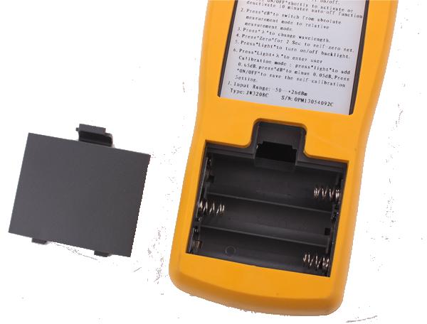 Máy đo thu phát cong suất quang Mw3208