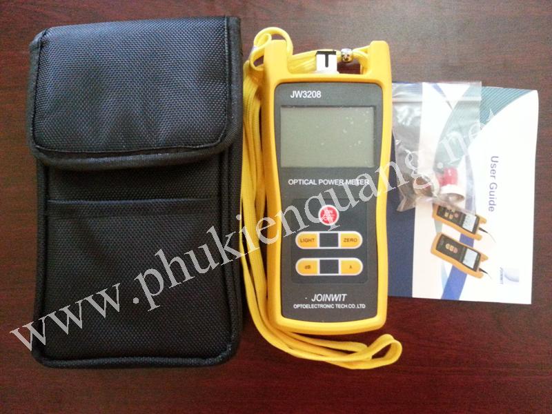JW3208 máy đo thu phát công suất quang