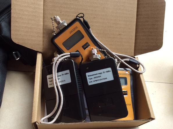 Máy đo công suất quang mạng mini